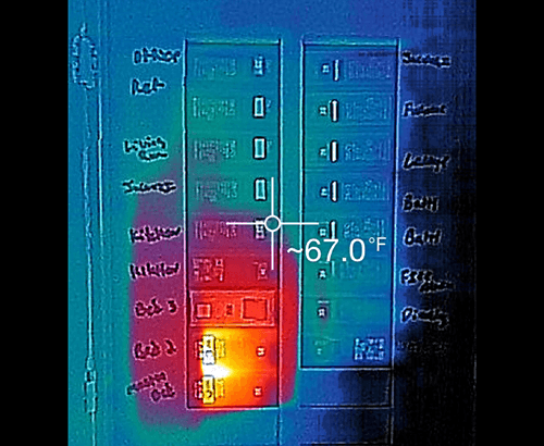 Energy Audit Infrared Circuit panel RPM Construction Technologies